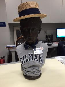 Harold Hatty Hat hard at work